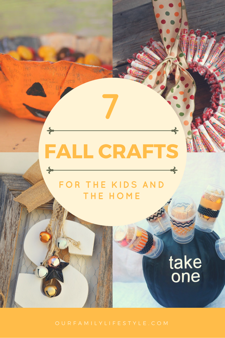 Fall Crafts for the Kids and the home