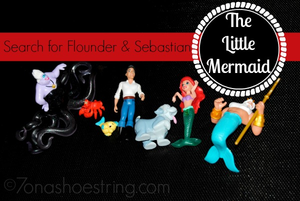 Search for Flounder and Sebastian : The Little Mermaid Toys