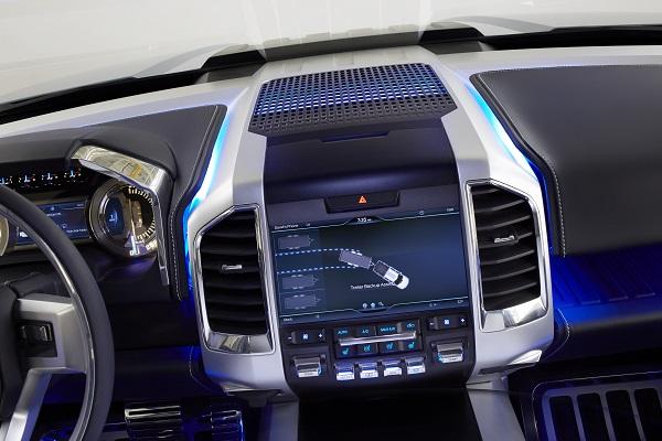 Ford Atlas Concept dashboard