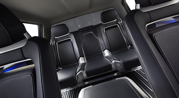 Ford Atlas Concept second row