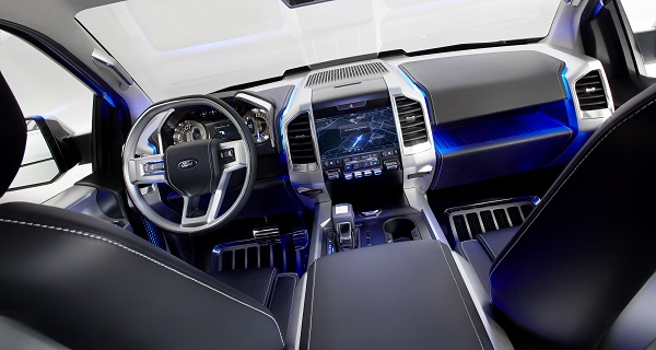Ford Atlas Concept technology