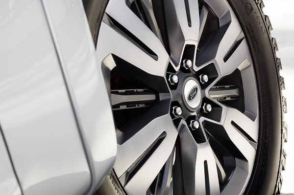 Ford Atlas Active Wheel Shutters