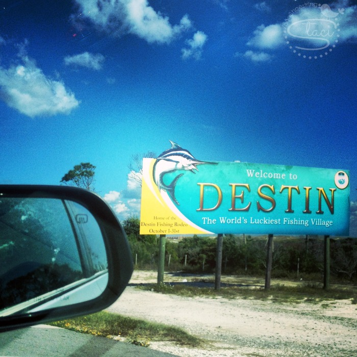 Destin sign