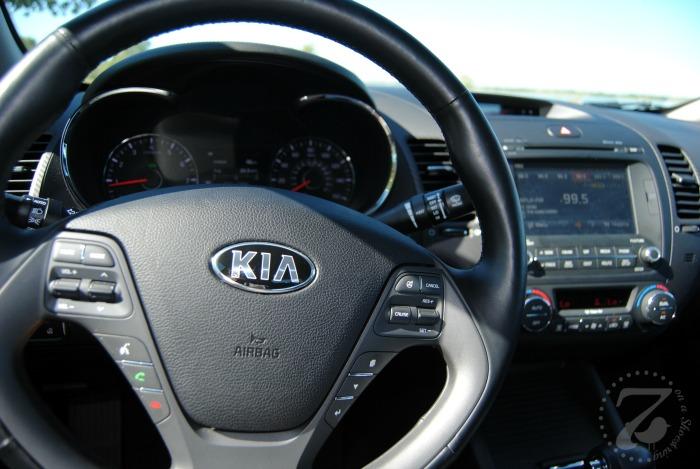 Forte steering wheel
