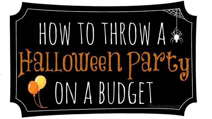 halloween party on budgetjpg