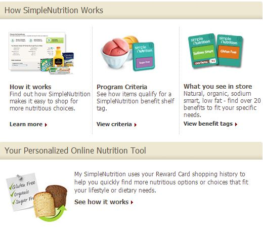 Personalized Online Nutrition Tool from Tom Thumb