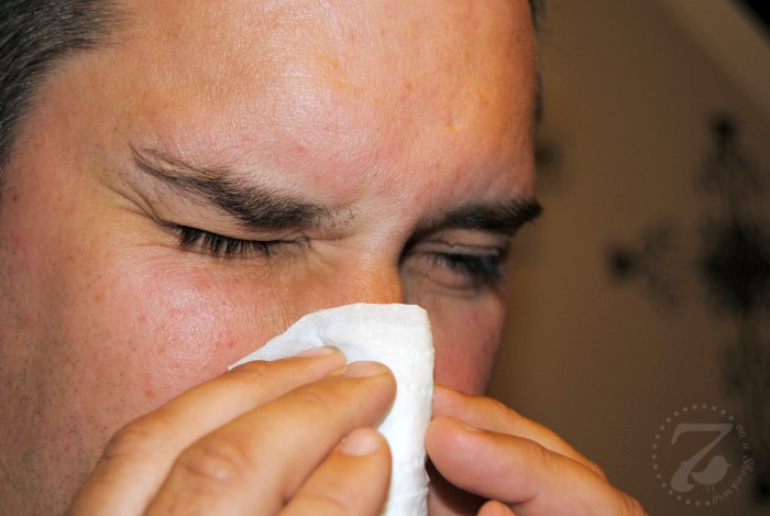 Angel Soft Facial Tissue to the Rescue for Raw Noses