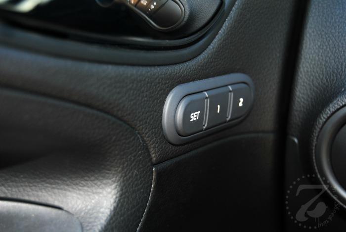 Adjustable Driver's Seat