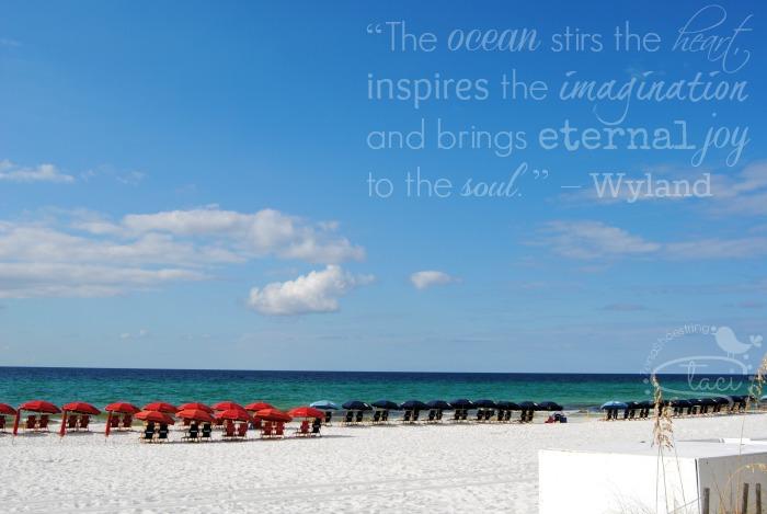 ocean stirs heart