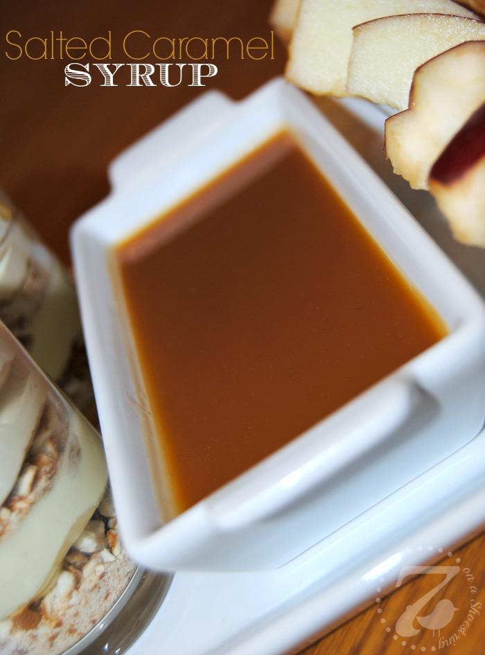 Salted Caramel Syrup