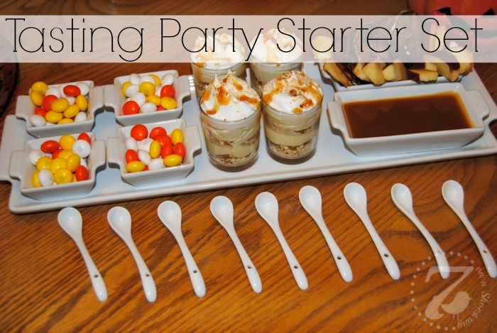 tasting party set
