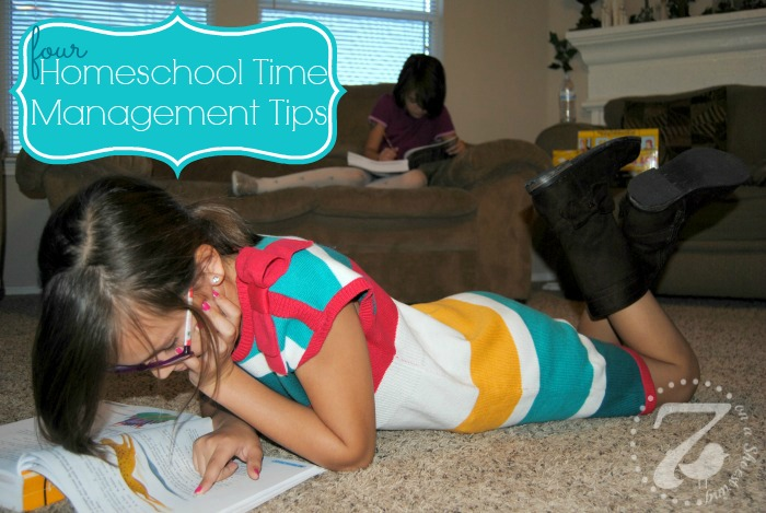 homeschool time management tips
