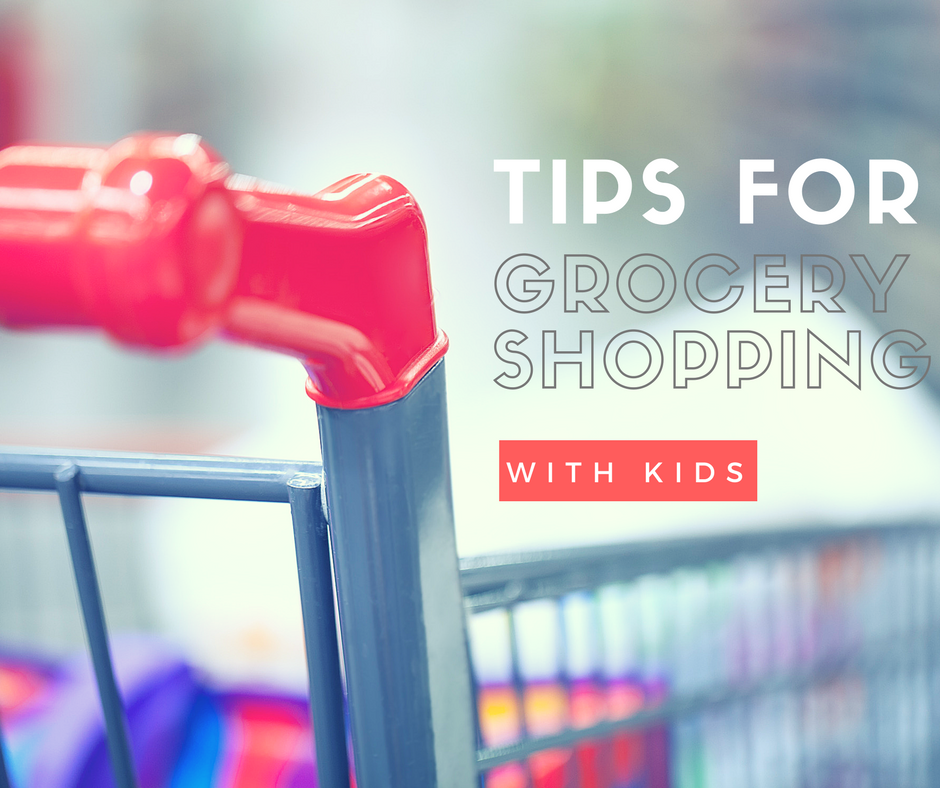 9 tips for grocery shopping with kids