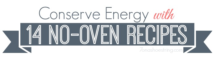 Conserve Energy recipes