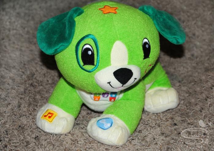 LeapFrog Scout dog
