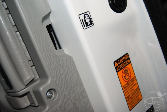Sienna safety locks