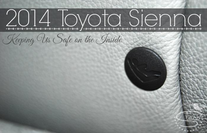 Toyota Sienna keeping safe