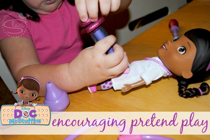 encouraging pretend play