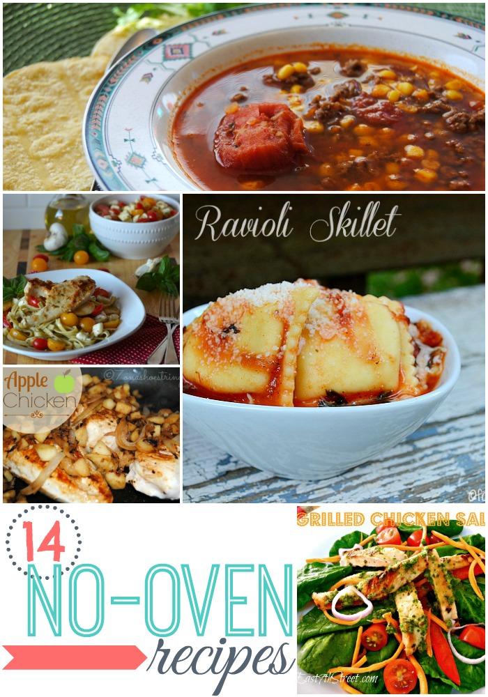 14 no-oven recipes
