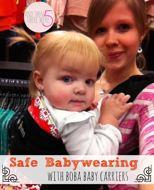 Boba safe babywearing