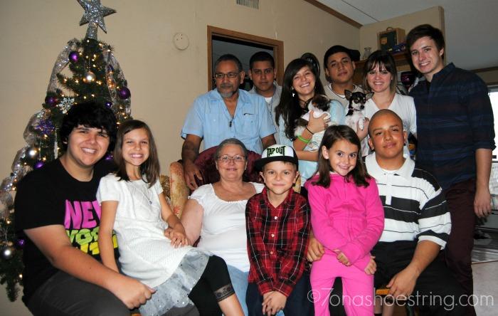 Christmas Family Pics JCP Hispanic Dinner
