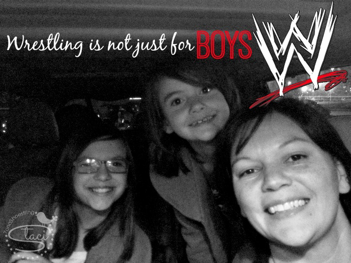 Wrestling not just for boys WWE