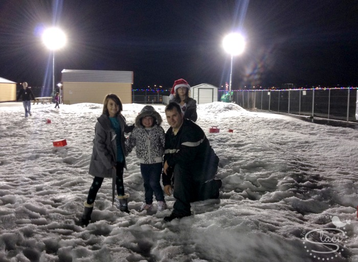 Gift of Lights and Snow Village at Texas Motor Speedway