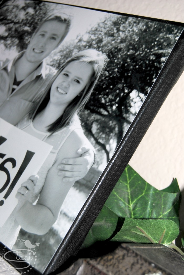 DIY Photo Canvas | 7 on a Shoestring