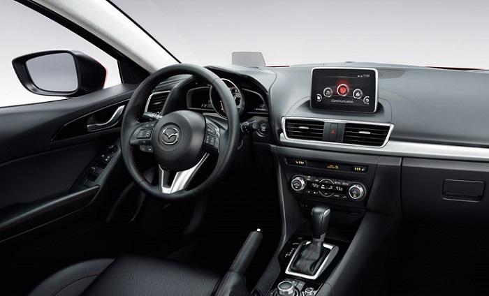 2014 Mazda3 Active Driving Display