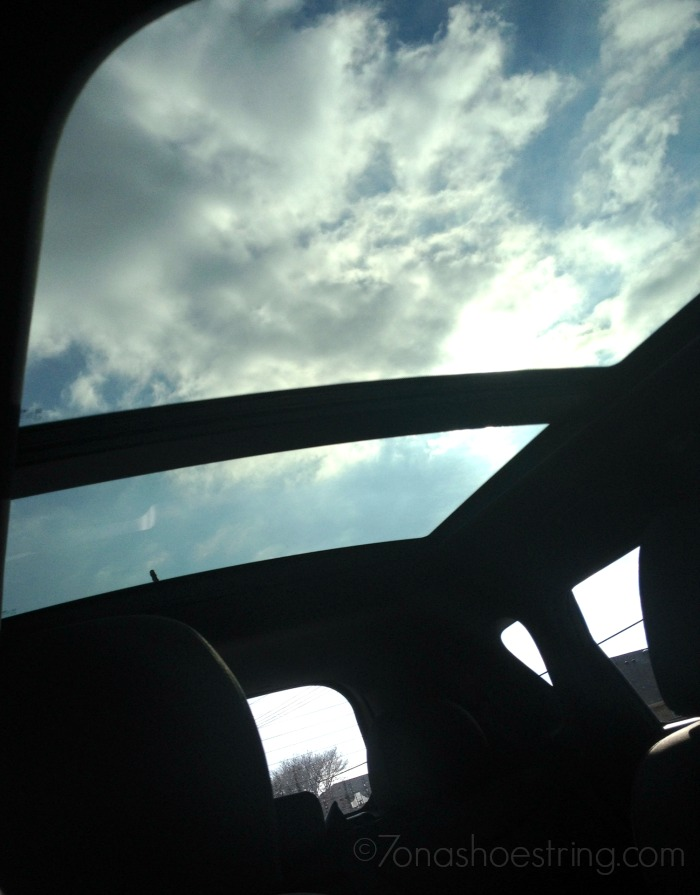 Kia Soul panoramic sunroof