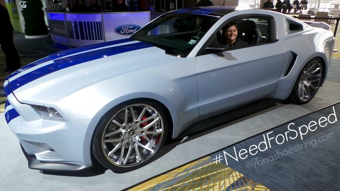 Need for Speed custom Mustang