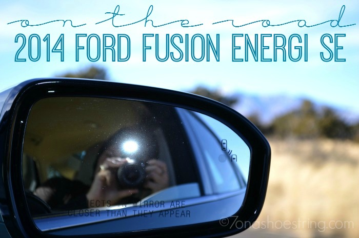 On the Road in 2014 Ford Fusion Energi SE