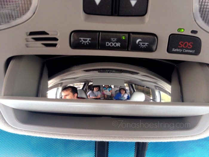 View from the Back Seat : 2014 Toyota Sienna
