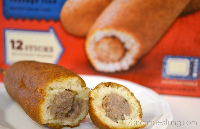 Pancake and Sausage to Go : Jimmy Dean
