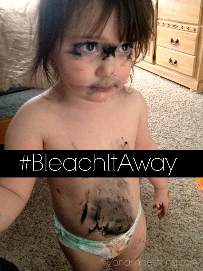 #BleachItAway mascara