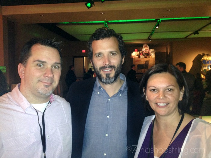 Colby and I with Bret McKenzie