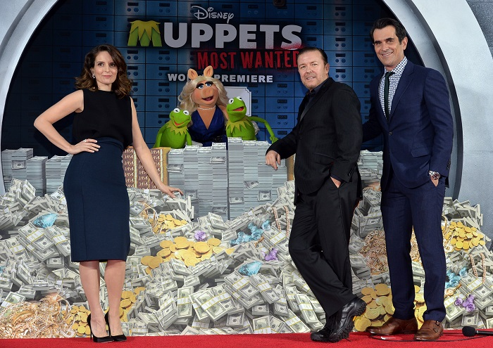 Walking Red Carpet with The Muppets at El Capitan Theatre