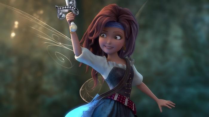 Faith, Trust and Blue Pixie Dust : The Pirate Fairy