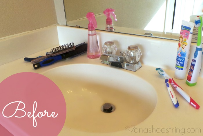 dress up sink before