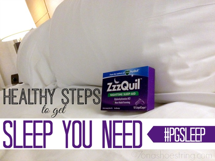 Healthy Steps to Get Sleep You Need : Access P&G