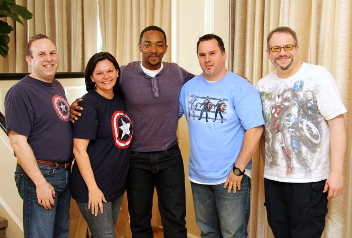 Anthony Mackie is The Falcon