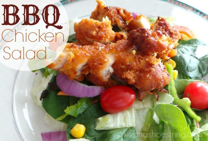 BBQ Chicken Salad Recipe with KC Masterpiece