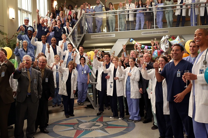 GREY'S ANATOMY Grey Sloan Memorial Hospital