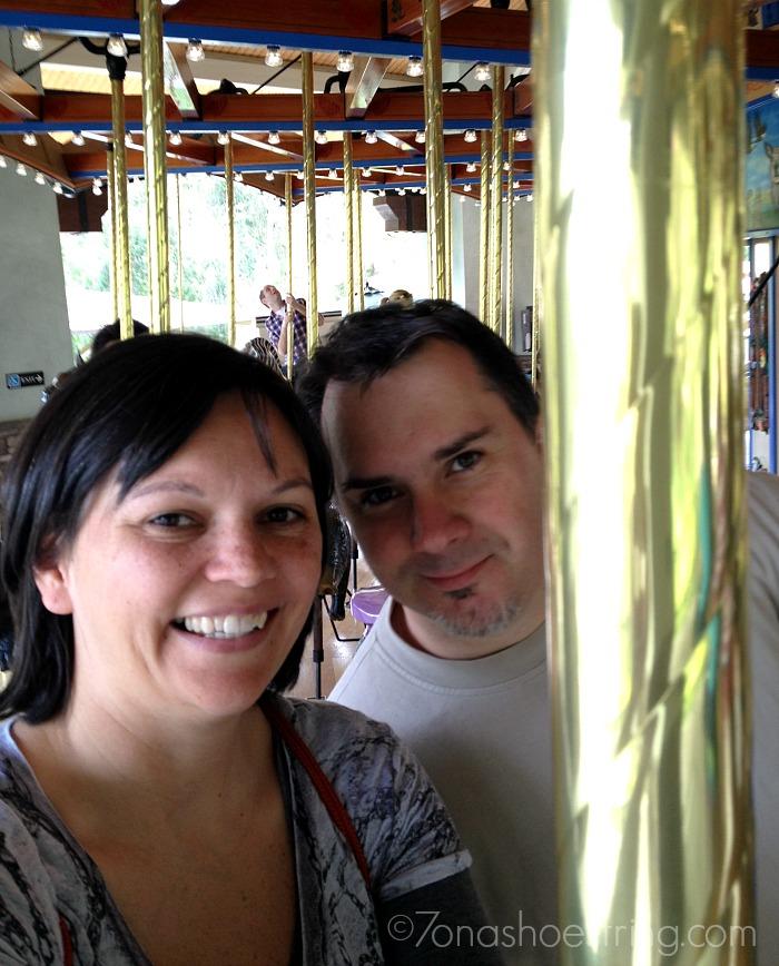 LA Zoo merry-go-round