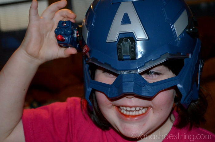 Hasbro Marvel Captain America Has Arrived