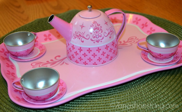 Whimsy and Wonder tea set