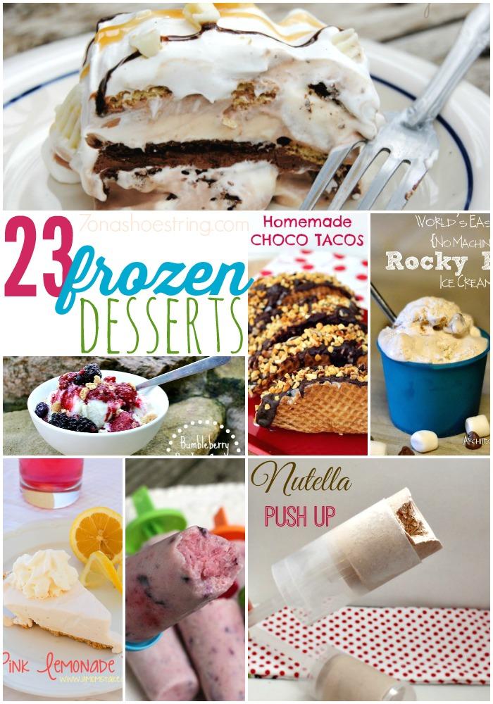 23 Frozen Desserts