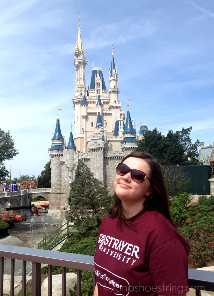 Chey at Walt Disney World