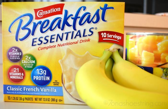 Pina Colada Smoothie : Carnation Breakfast Essentials