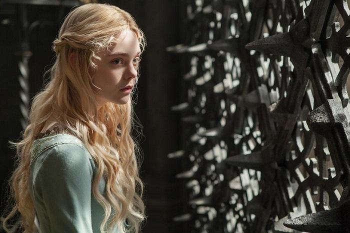 Maleficent Elle as Aurora